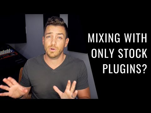 Can You Mix Great Songs With Just Stock Plugins? – RecordingRevolution.com