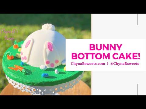 Easter Bunny Bottom Cake