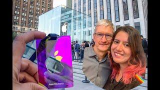 Gambar cover LOJA APPLE EM NOVA YORK REABRIU - IPHONE 11  #APPLE #NOVAYORK #IPHONE