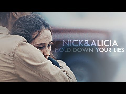 nick+alicia | hold down your lies