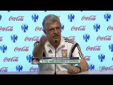Ricardo Ferretti Tecnico De Tigres ENLOQUECIO Al Ser Eliminado Por Rayados   Primero Las Damas