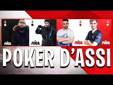 POKER D'ASSI CON CICCIOGAMER, GABBODSQ E MARZA! LA PARTITA IMPOSSIBILE | FORTNITE ITA