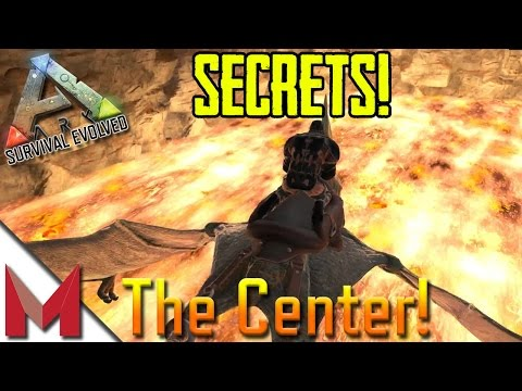 ARK: SURVIVAL EVOLVED - SECRET CAVE LOOT AND WATERFALL BASE LOCATION! (THE CENTER) - S4E30 GAMEPLAY