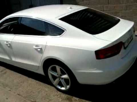 audi a5 blanche youtube. Black Bedroom Furniture Sets. Home Design Ideas