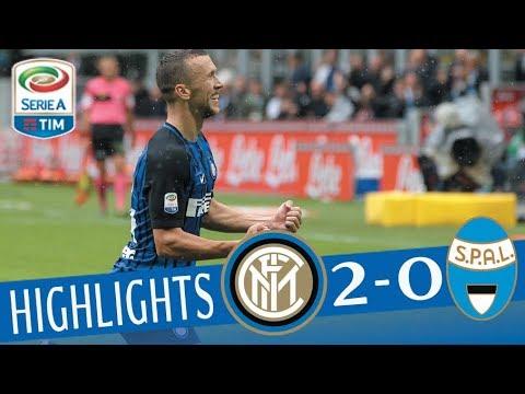 Inter - Spal - 2-0 - Highlights - Giornata 3 - Serie A TIM 2017/18