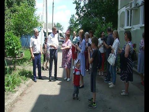 Роман Старовойт побывал в Щиграх с рабочим визитом