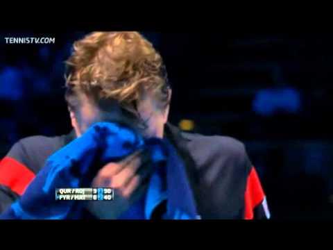 Qureshi & Rojer Vs Fyrstenberg & Matkowshi Barclays ATP World Tour Finals 2013 Round-Robin 2nd Set