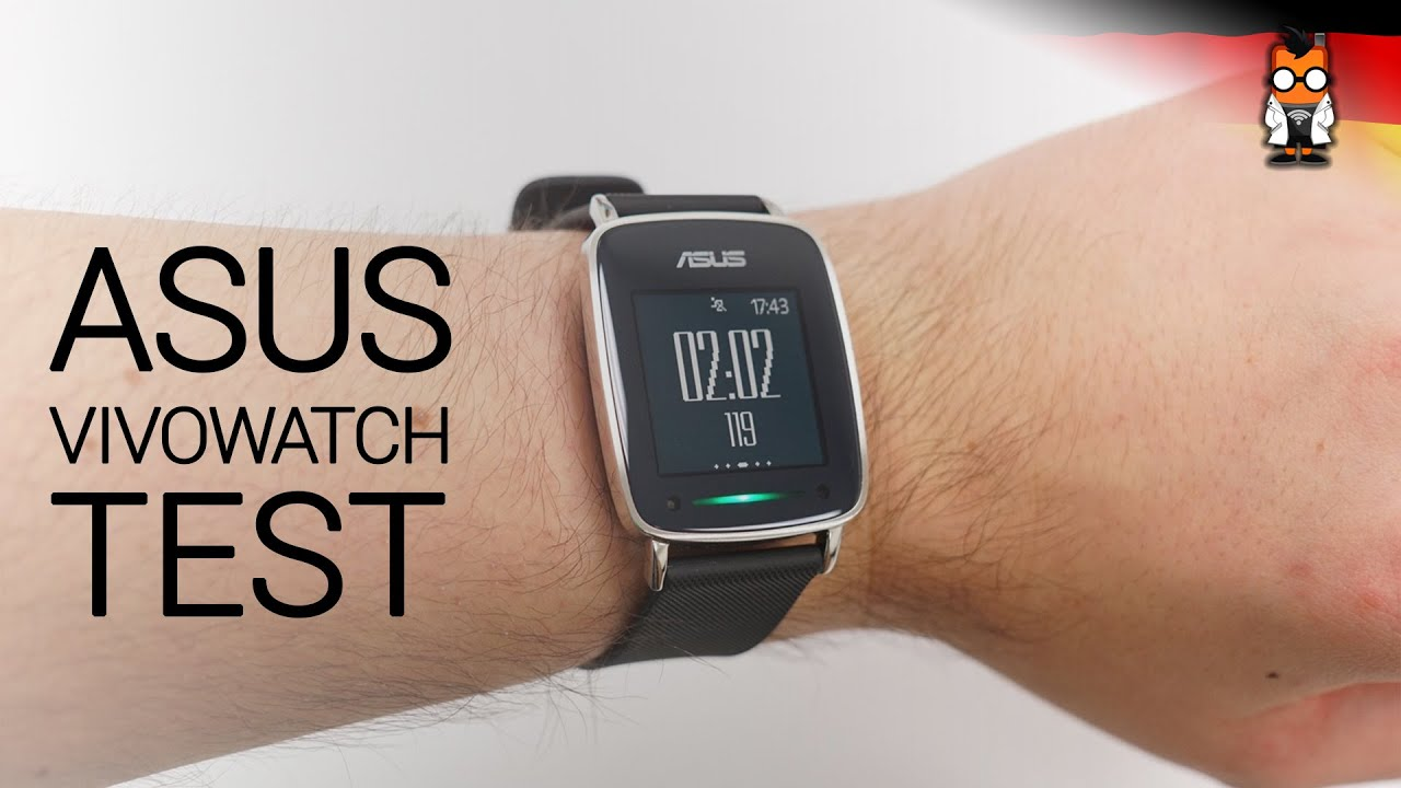 ASUS VivoWatch Test Deutsch