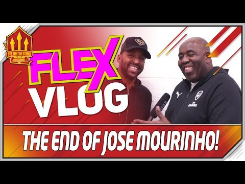 END of MOURINHO Robbie From Arsenal Fan TV & Flex  Man United vs Arsenal Preview