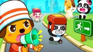 Малыш Панда Попал в Землетрясение 2.Поможем Панде.Спасайся кто Может.Игры для детей про Панду(panda)