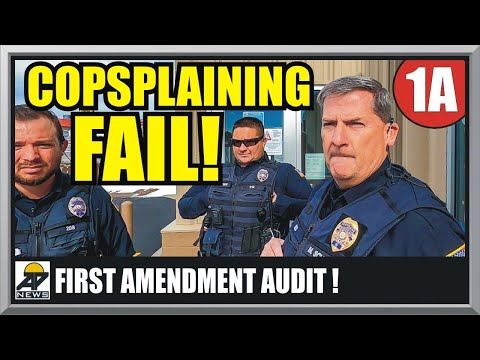 3 COPS OWNED & EDUCATED - DOUGLAS WYOMING POLICE - First Amendment Audit - Amagansett Press
