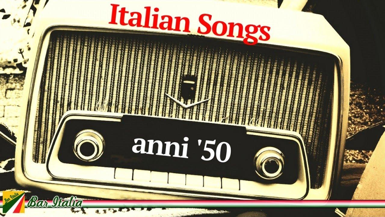 Best Italian Songs | Le canzoni italiane degli anni '50