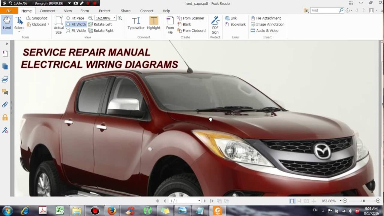 maxresdefault mazda bt 50 2012 service repair manual dhtauto com youtube 2013 mazda bt 50 wiring diagram at fashall.co