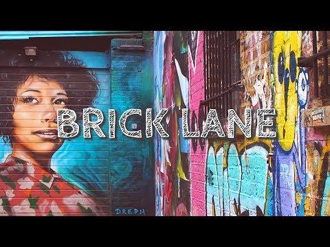 Brick Lane - Street Art, Vintage Market and Unicorn Burgers in London 🦄