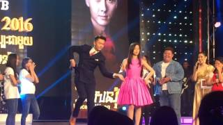 Vincent Wong and Nancy Wu រាំវង់ at PNN