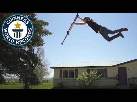 Highest Jump on a pogo stick – Meet the Record Breakers