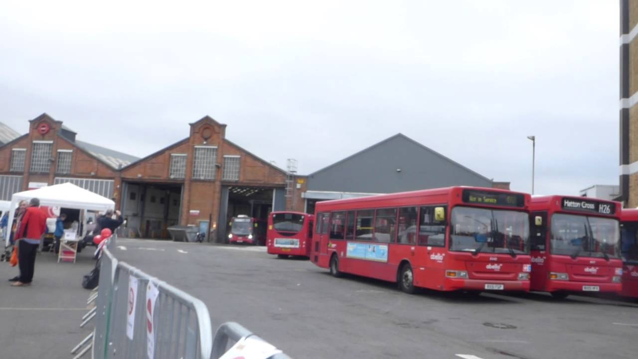 Fulwell bus garage open day