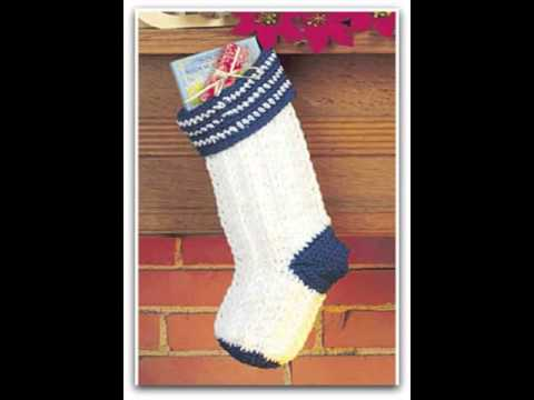 Knitted Christmas Stocking Patterns Free Youtube