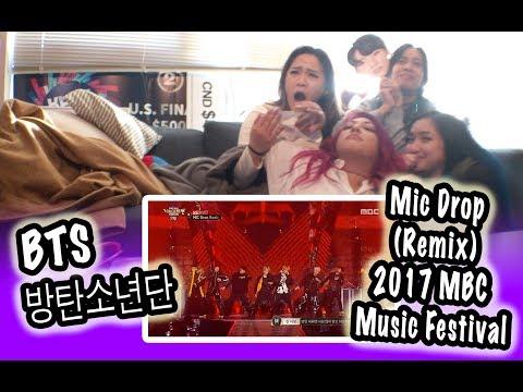[KPOP REACTION] BTS 방탄소년단 -- MIC DROP REMIX @ 2017 MBC MUSIC FESTIVAL