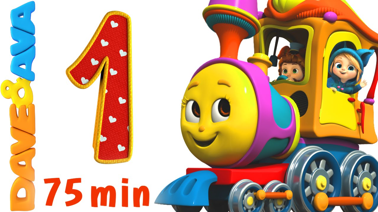 numbers song collection number train 1 to 10 counting songs and