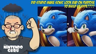 Did Studio make Sonic look bad on purpose to build hype?!? | Nintendo Guru Daily
