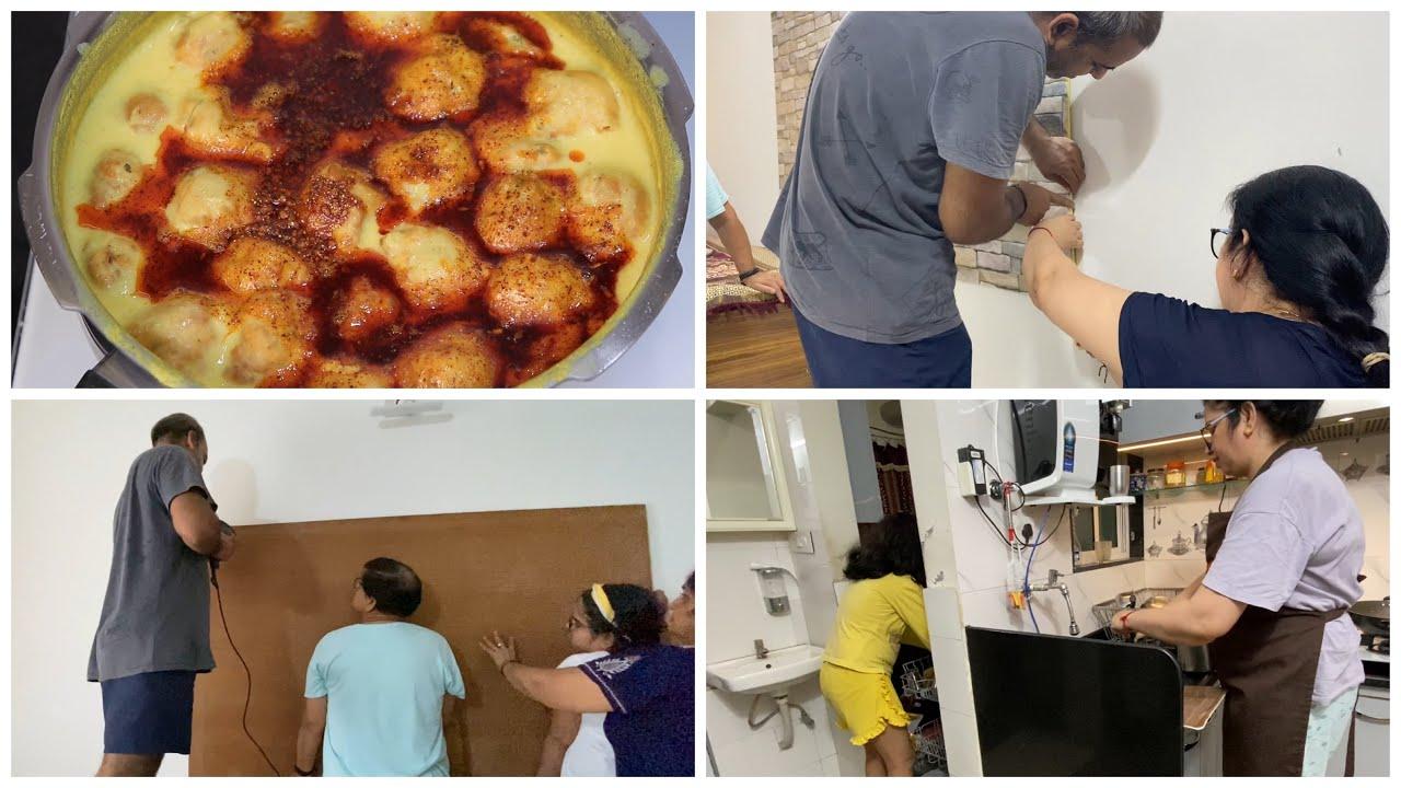 Batao Kaisa Laga Ye Furniture | Tips & Tricks for CREAMY PERFECT Kadhi Pakora Recipe | Neelam vlogs
