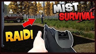 WAR with the BANDITS (Base Raid vs Revenge Raid) - Mist Survival Gameplay EP 4