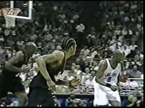 Allen Iverson 1999 NBA Playoff Debut vs Penny Orlando Magic