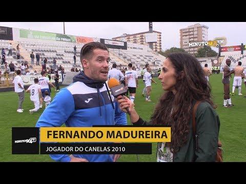 FLASH INTERVIEW - FERNANDO MADUREIRA (Canelas 2010) -TAÇA AFPORTO CAMPEÕES!