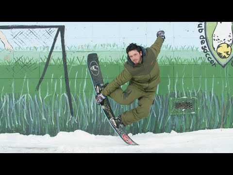 Snowboarder - Cover