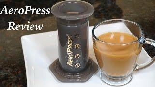 Video Aeropress Coffee and Espresso Maker Review download MP3, 3GP, MP4, WEBM, AVI, FLV Juli 2018