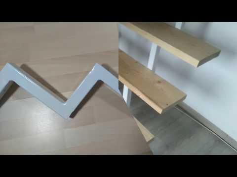 Gewendelte Treppe Aus Holz Selber Bauen Montieren Montage Einer
