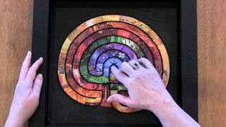 Collage Labyrinth as Meditation