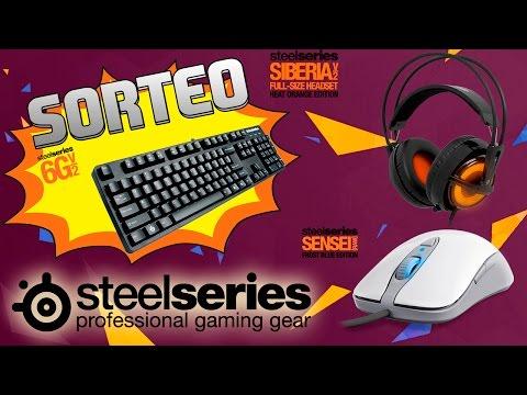STEELSERIES | SORTEO TECLADO 6GV2 + UNBOXING CASCOS SIBERIA V3 Y RATON SENSEI