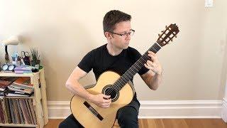 Giga by David Kellner & Lesson for Classical Guitar