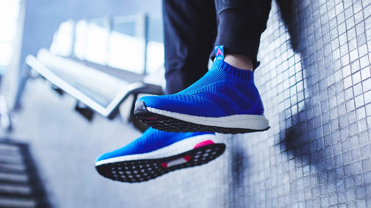 "low priced fab0a 3354a Bootshead  Adidas ACE 17+ Purecontrol Ultra BOOST ""Blue Blast"" Unbox"
