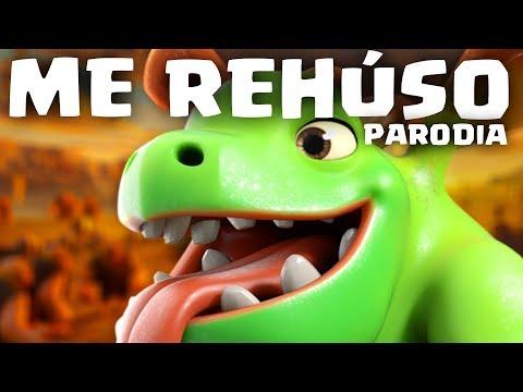 ME REHÚSO (PARODIA DE CLASH ROYALE) | Danny Ocean - Me Rehúso | GiovaGames