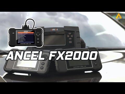 🔥ANCEL FX2000 Engine