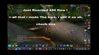 World Of Warcraft Mining Guide 0-450 One Day!