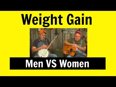 Funny Song Men VS Women Weight Gain