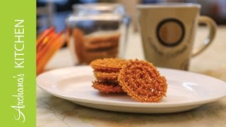 How To Make Murukku (Chakli) Recipe - A Tea Time Snack by Archana