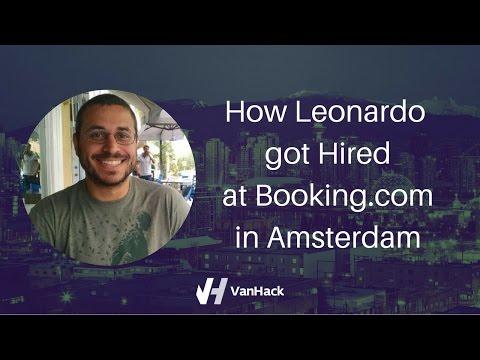 How Leonardo got Hired at Booking.com