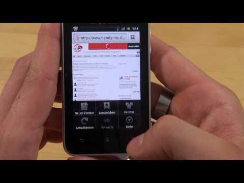 Sony Ericsson Xperia active - Internet - Teil 3
