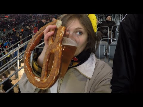 American gal visits the German Bundesliga