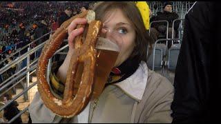 American gal visits the German Bundesliga