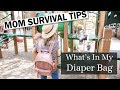 What's In My Diaper Bag: Mom of Two Kids