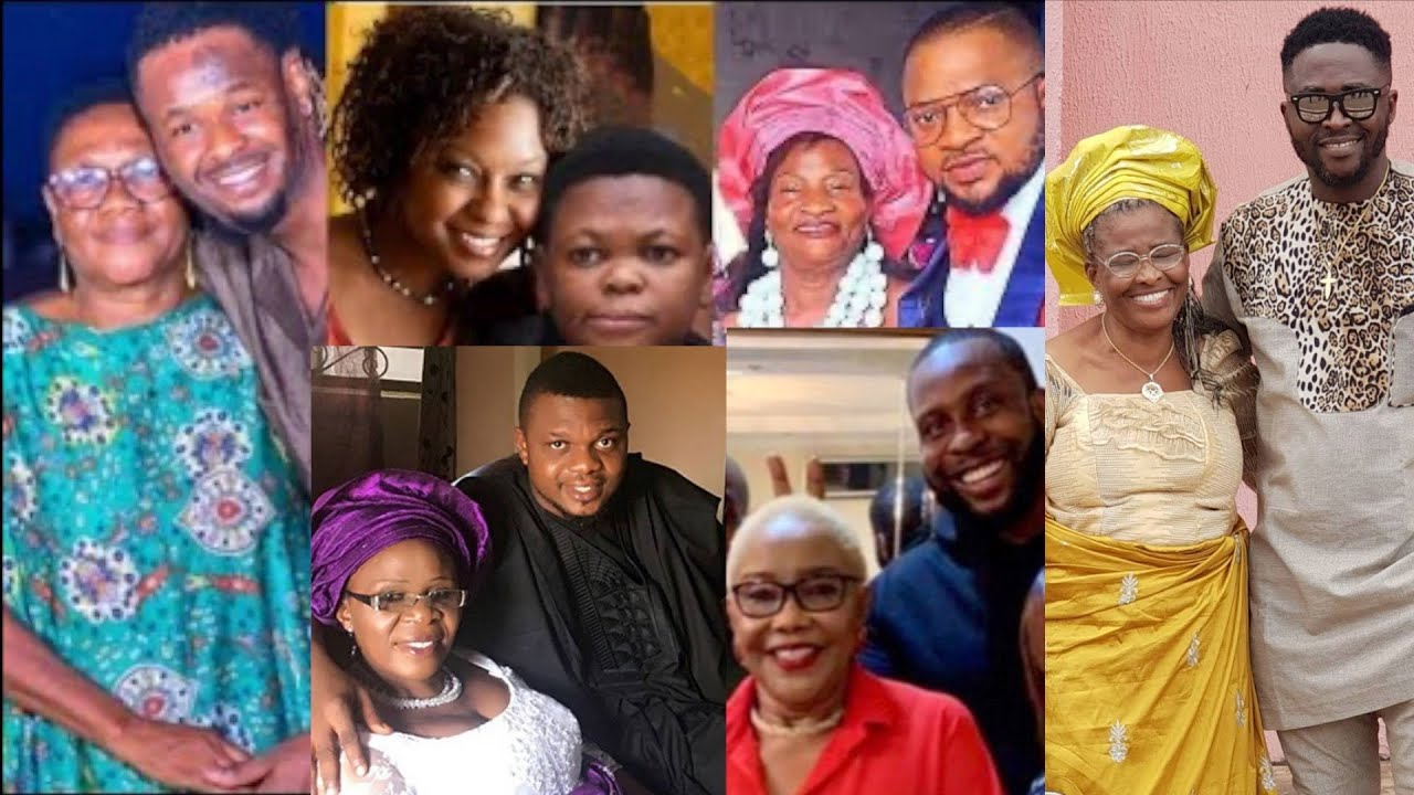 Download Amazing Nollywood Actors and Their Beautiful Mothers