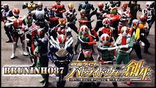 Video [PS4] Kamen Rider: Battride War Genesis | Special Attack + All Kamen Rider Henshin TV download MP3, 3GP, MP4, WEBM, AVI, FLV September 2018