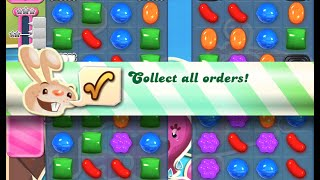 Candy Crush Saga Level 131 walkthrough (no boosters)