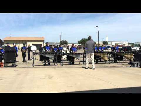 North Crowley Percussion Competition At Springtown 2015